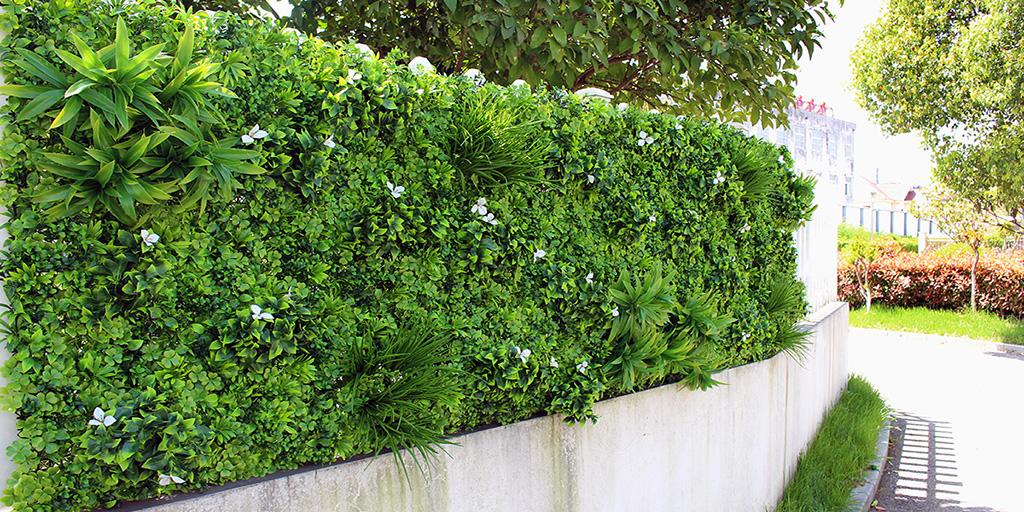 artificial hedge screening